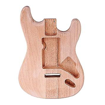 Homyl Cuerpo De Guitarra Eléctrica Sin Acabado Accesorios de Costura Manualidad Decoración: Amazon.es: Instrumentos musicales