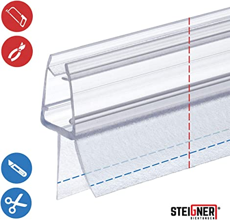 90cm UK13 pour quadrant douche arqu/é pour verre /épaisseur 3,5mm// 4mm// 5mm Joint d/étanch/éit/é de remplacement pour douche circulaire//ronde