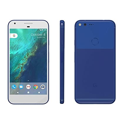 Google G-2PW2100-021-C Pixel XL 32GB Unlocked Phone, Really Blue, 5 5