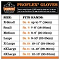 Ergodyne ProFlex Thermal Waterproof Glove with Gauntlet, Black