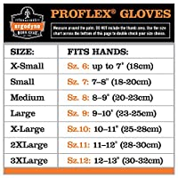 Ergodyne ProFlex 817WP Thermal Waterproof Utility Glove, Black