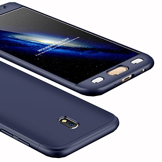 competitive price 3d734 6b301 Amazon.com: Galaxy J330/J3 Pro 2017 Case, Ranyi [Full Body 3 in 1 ...
