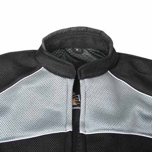 Xelement CF511 Mens Black Armored Mesh Sports Jacket - Small by Xelement (Image #4)