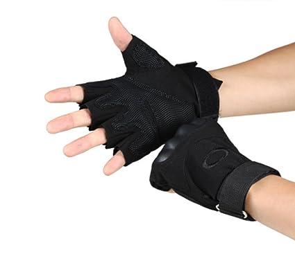 Amazon com : Jsheng Tactical Shooting Gloves Half Finger