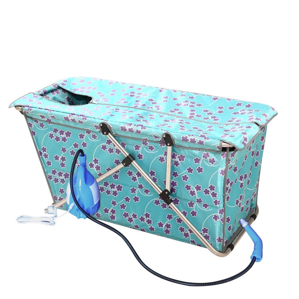 Die Badewanne Extended Steam Sauna Verdickung Einfache Faltung Bad Eimer Material: Wasserdichtes Tuch (Farbe : C)