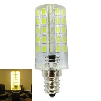 SODIAL E12 Bombilla LED de Silicona 4W 80 Led 220V 200-240V AC Bombilla LED
