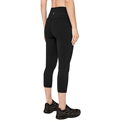 Amazon.com : Lululemon Wunder Under Crop High Rise Yoga Pants : Clothing