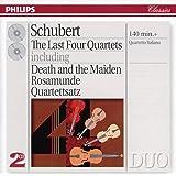Schubert: Last 4 Quartets