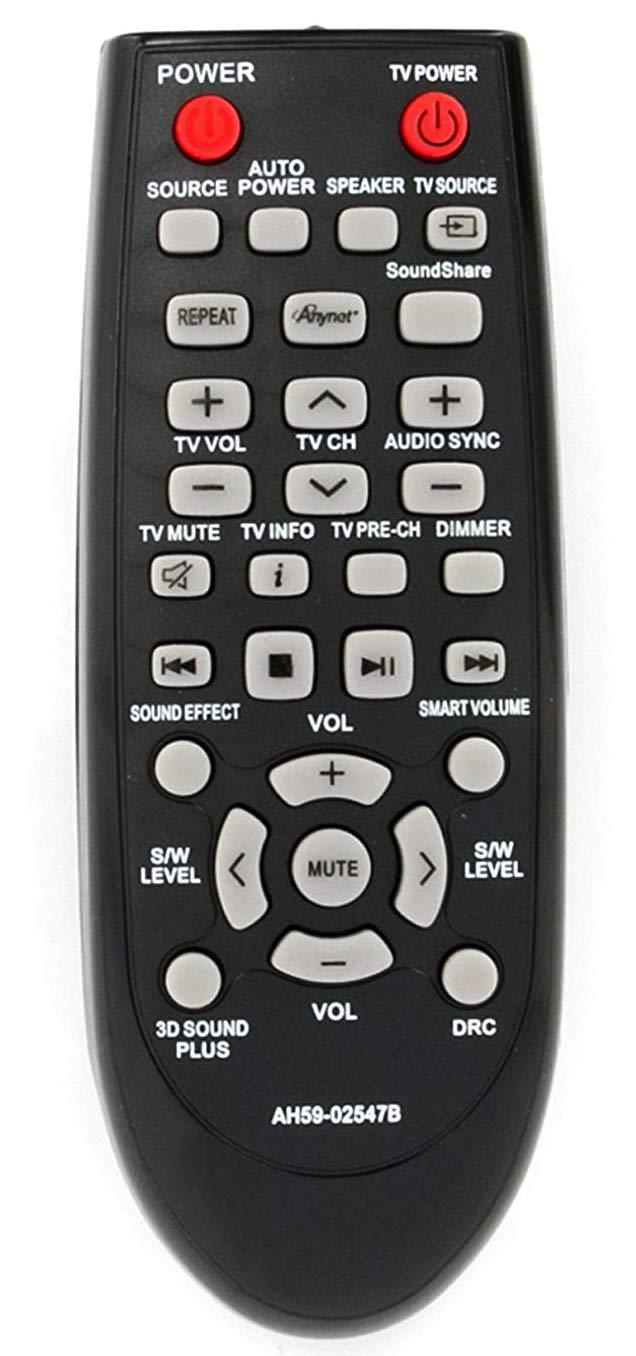 ALLIMITY AH59-02547B 交換用リモコン サムスンホームシアターサウンドバーシステム AH68-02644D-00 HW-F450 HW-F450/ZA HW-FM45 HW-FM45C PS-WF450用   B07H8BVVFM