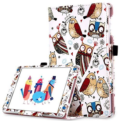 iPad Mini Case, iPad Mini 2/3 Kids Case, BENTOBEN Folio PU Leather Kids Cute Owl Smart Stand Shockproof Protective Cover with Auto Sleep/Wake Feature and Stylus Holder for Apple iPad Mini 1/2/3 (Owl)