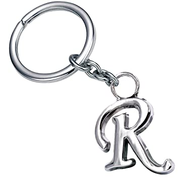 Stylish Letter R Simple Alphabet Key Ring Creative Packaging Design Box  Z 338. Amazon com  Stylish Letter R Simple Alphabet Key Ring Creative
