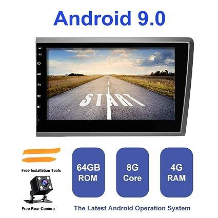 ZLTOOPAI Android 9.0 AutoRadio 2 din GPS Navigation F/ür Volvo S60 V70 XC70 2000-2004 Unterst/ützung Bildschirm Spiegel WiFi Volle RCA Ausgabe Lenkradsteuerung