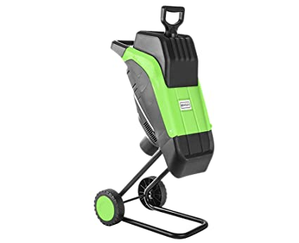 Charles Bentley Electric Garden Shredder Chipper 2500W - Color: Green