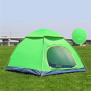 KCJMM Tente de Plage Tente de Plage Portable, Protection UV, adapté aux Sports de Plein air Camping randonnée Plage 2-4 Personnes