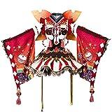 Costhat Love Live! Aqours Ruby Kurosawa Autumn Viewing Cosplay Costume Kimono Dress