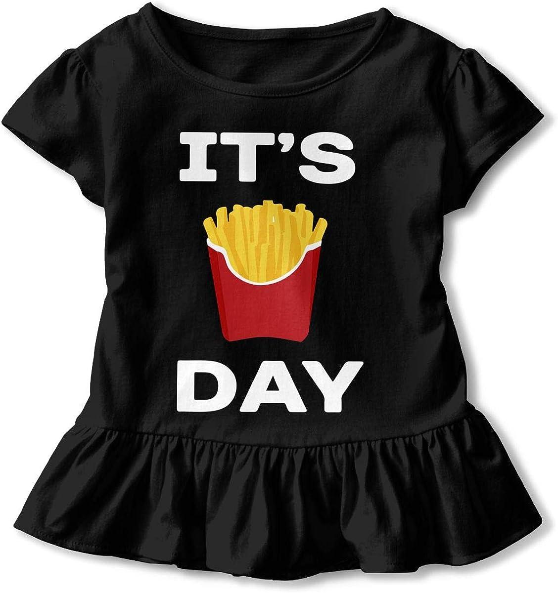 SC/_VD08 Happy Alpaca Baby Girls Short Sleeve Tee Pullovers
