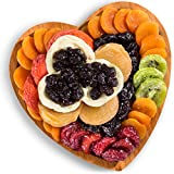 Golden State Fruit Dried Fruit with Bamboo Heart Gift Tray