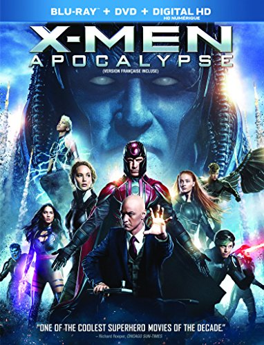 X-men Apocalypse (Bilingual) [Blu-ray + DVD+ Digital Copy]