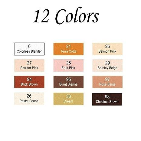 Amazon.com: Rotuladores de 12/24 colores para colorear la ...