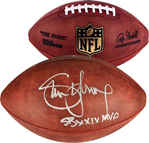 (Steve Young San Francisco 49ers Autographed Wilson Pro Football with SB XXIX MVP Inscription - Fanatics Authentic Certified)
