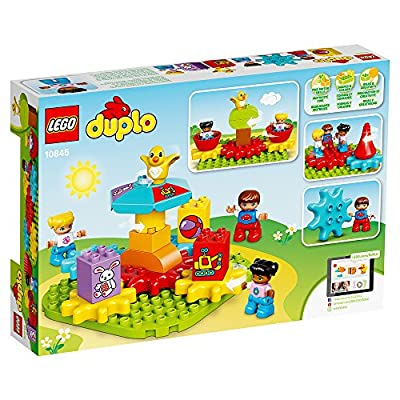 LEGO DUPLO My First Carousel 10845 Educational Toy, Large Building Blocks: Toys & Games