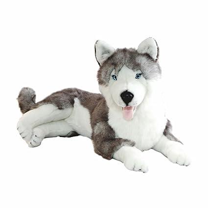 Amazon Com Bocchetta Plush Toys Husky Stuffed Animal Plush Toy