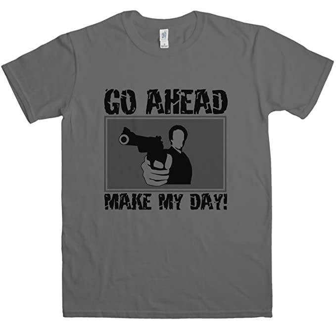 a55bc914f53e0 Mens Go Ahead Make My Day T Shirt - 8Ball Originals Tees