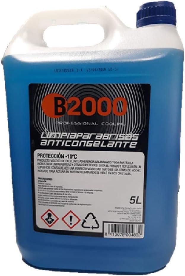 B2000 LIMPIAPARABRISAS ANTICONGELANTE Professional Cooling: Amazon.es: Coche y moto