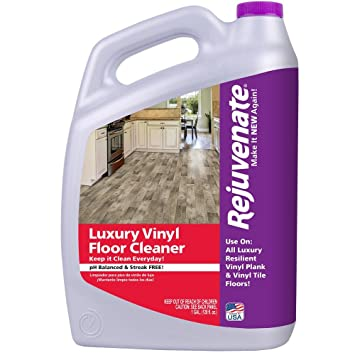 Amazon Rejuvenate Luxury Vinyl Floor Cleaner 128oz 128 Fluid