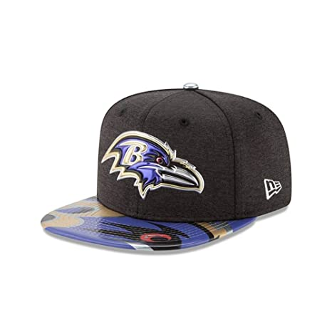 Amazon.com   NFL Baltimore Ravens 2017 Draft On Stage Youth 9Fifty ... 9dad92425972