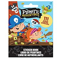 Amscan the Pirate's Adventure Sticker Booklet Book