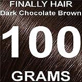 Finally Hair Building Fiber Refill 100 Grams Dark Chocolate Brown Hair Loss Concealer by Finally Hair (Dark Chocolate Brown) Review