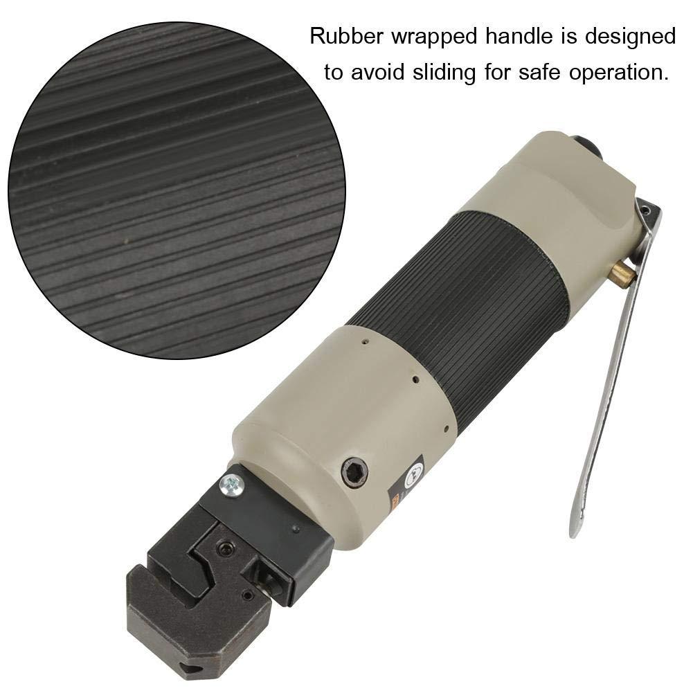 Herramienta de perforaci/ón de aire herramienta de brida de aire plegable con conector de la UE herramienta de perforaci/ón neum/ática con brida de 5 mm para perforaci/ón de pl/ástico de metal