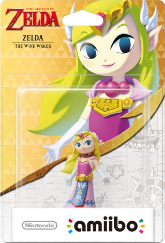 Nintendo Zelda 2003731P1 - Figura amiibo Zelda Wind Waker: Amazon ...