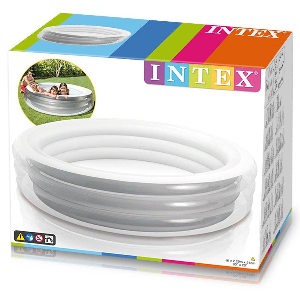 Amazon.com: Intex - Piscina hinchable transparente: Jardín y ...