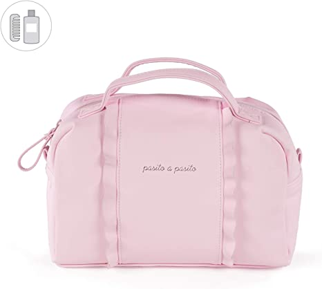 pasito A pasito biscuit/ /Valise Unisexe rose