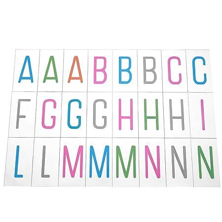 Ahomi DIY Cartel Cartel Letras Símbolos Caja de luz para A4 ...