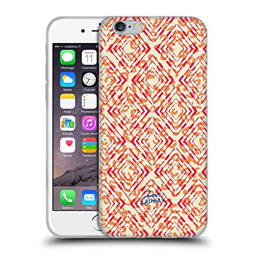 Official Cosmopolitan Leopard Aztec Brights Soft Gel Case for Apple iPhone 6 / 6s