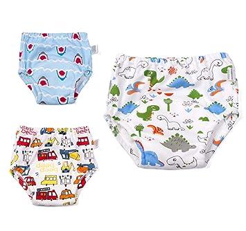 ba85577da Amazon.com   100% Cotton Training Pants Underwear Waterproof Girls ...