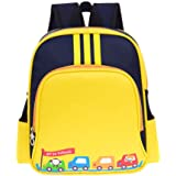 Waterproof Preschool Toddler Backpack Boys Nylon Lightweight Kids' Kindergarten School Book Bags with Adjustable Strap