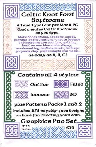 Celtic Knot Font Software