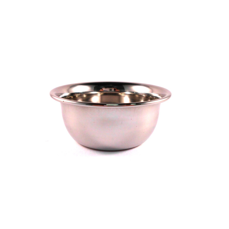 Stainless Steel Shaving Bowl For Shaving Cream / Soap by Barber Blades RazorBlades4u