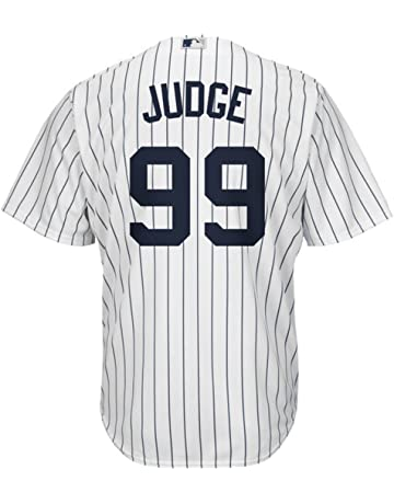 Aaron Judge New York Yankees  99 MLB Men s Majestic Home Replica Cool Base  Player Jersey 0da73aae9