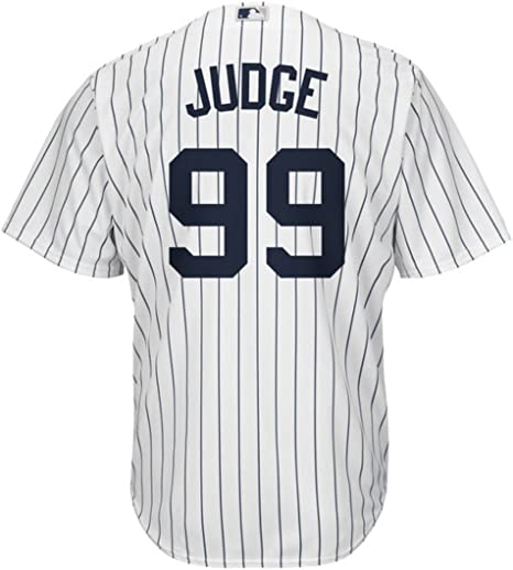Aaron Judge New York Yankees Home MLB Player Cool Base Baseball Jersey