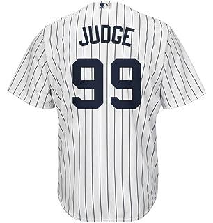 302f411cd46 Aaron Judge New York Yankees  99 MLB Men s Majestic Home Replica Cool Base  Player Jersey