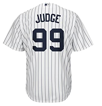 buy online 56a07 001a7 Aaron Judge New York Yankees #99 MLB Men's Majestic Home Replica Cool Base  Player Jersey