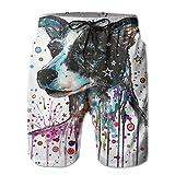 Size:M Size: Waist Circumference 78-80cm Trousers: 49cmL Size: Waist Circumference 81-84cm Trousers: 49cmXL Size: Waist Circumference 85-88cm Trousers: 50cmXXL Size: Waist Circumference 89-92cm Trousers: 52cmMen's Beach Pants, Home Shorts.Cha...