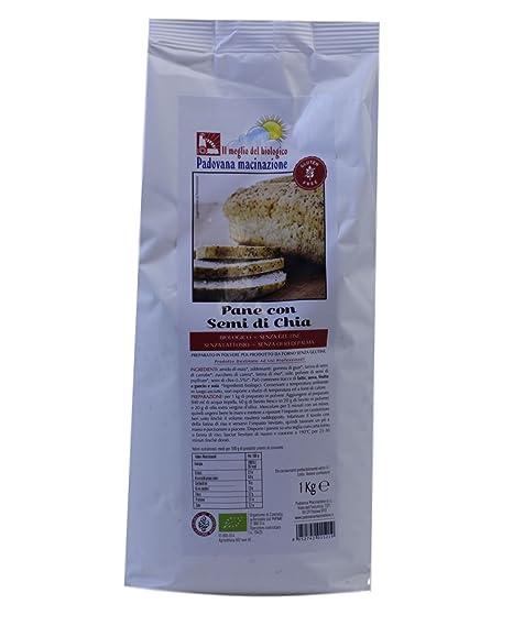 Preparado para pan con gluten de BIO de 1 kg de semillas de Chia