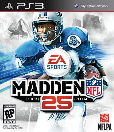 Madden NFL 25 - Playstation 3 (Best Ps3 Football Game)