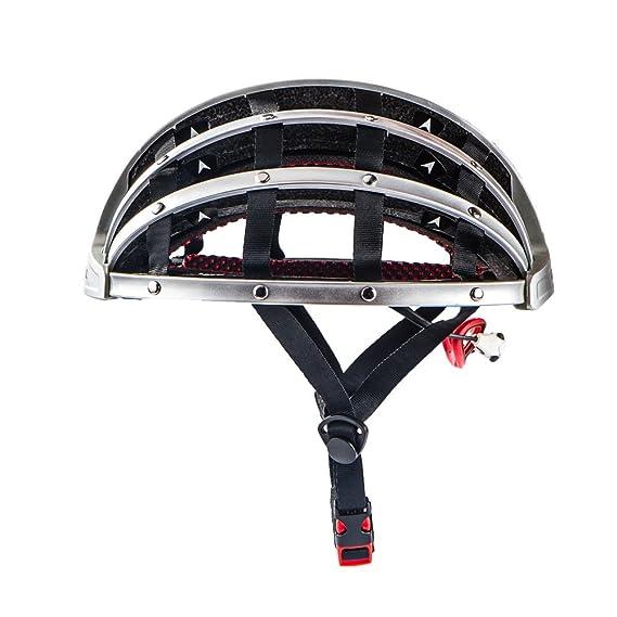 CDSS CAIRBULL casco de bicicleta plegable portátil ultraligero casco de bicicleta casco de bicicleta transpirable casco de seguridad: Amazon.es: Deportes y ...